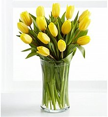 Flower Bouquets: Sunshine's Promise Tulip Bouquet