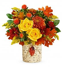 Flower Bouquets: Golden Birch Bouquet