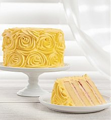 Cakes and Desserts: Yellow Roses Lemon Cake
