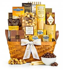 Gourmet Gift Baskets: As Good As Gold Easter Basket