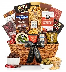 Gourmet Gift Baskets: In Sympathy Gourmet Collection