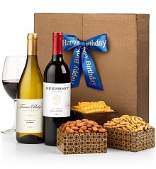 Wine Gift Crates: The Birthday Wine Duet