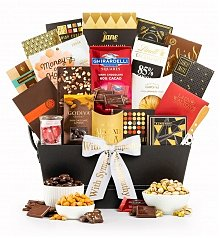 Gourmet Gift Baskets: Our Condolences Gourmet Gift Basket