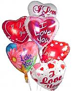 Balloons: Romantic Balloon Bouquet-6 Mylar