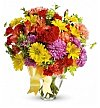 Flower Bouquets: Blossoming Color Bouquet