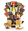 Wine Baskets: With Sympathy Wine Basket