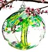 Home Decor: Tree of Enchantment Glass Globe