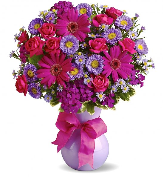 Joyful Birthday Bouquet Flower Bouquets Make someones