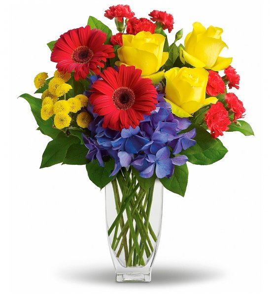 Here\'s to You Bouquet: Flower Bouquets - A vibrant bouquet